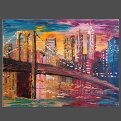 Landscape Paintings New York New York Painting On