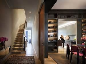 Ideas Townhouse Interior Design Stylish Townhouse With A Cozy Interior In New York Digsdigs