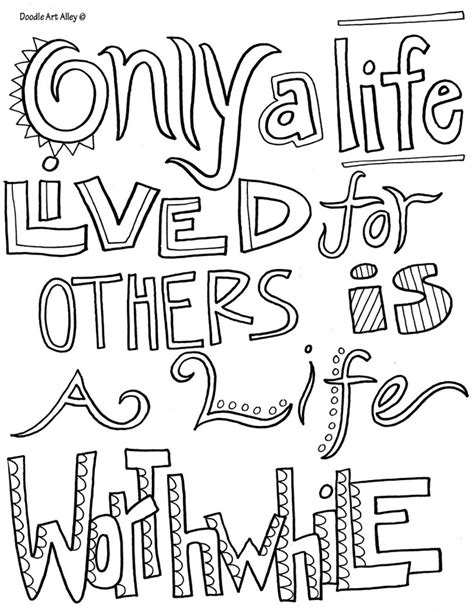 quote coloring pages printable coloring quotes quotesgram