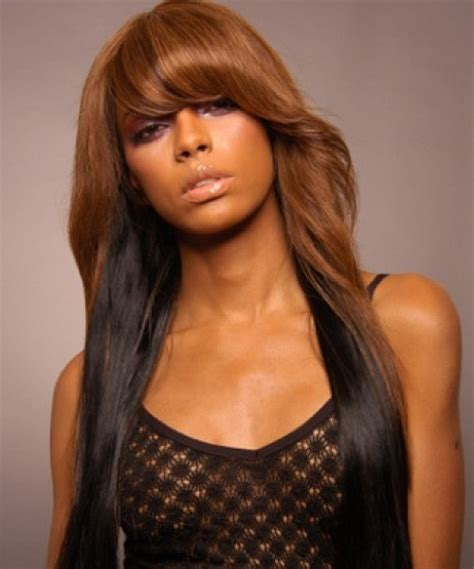 hairstyles for long hair weave exotic long hair hairstyles for black women new