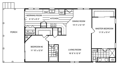 hton 857 sq ft 2 bedroom 2 bath starting 895 per month 857 sq ft manufactured home floor plan
