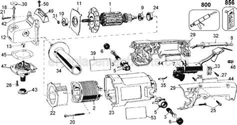 Dewalt Dw847 Parts List And Diagram Type 1