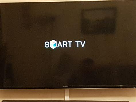 samsung smart samsung smart tv stuck on start screen logo samsung