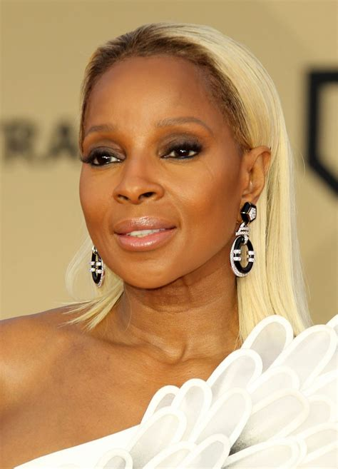 mary j blige pictures mary j blige 2018 sag awards in la