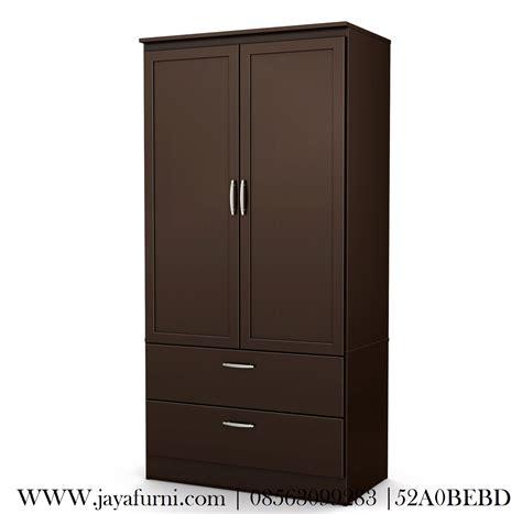 Lemari Pakaian Dua Pintu lemari pakaian jati minimalis 2 pintu jayafurni mebel jepara jayafurni mebel jepara