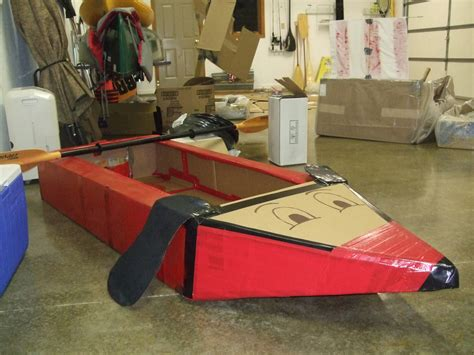cardboard boat designs with duct tape built a boat from cardboard and duct tape church stuff