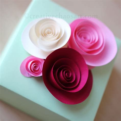 rolled paper roses template rolled paper flowers paper