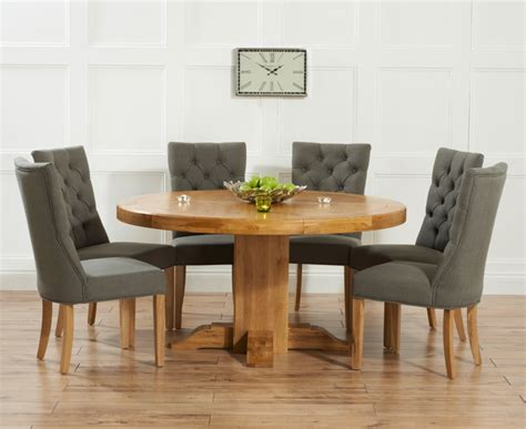 Buy Mark Harris Turin Solid Oak 150cm Round Dining Table Circular Oak Dining Table And Chairs