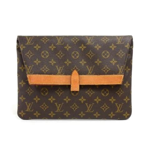 vintage louis vuitton pochette pliant monogram canvas