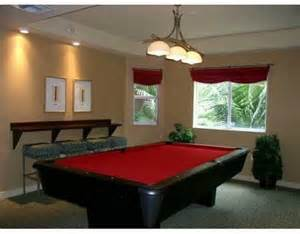 Billiards Room Decor Resort Style Living In Valencia At South Miami