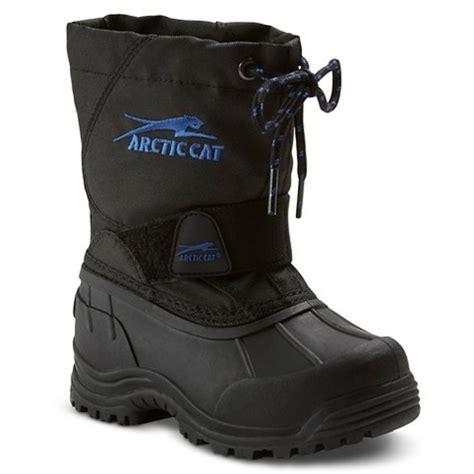 toddler boy winter boots arctic cat toddler boys winter boots black target
