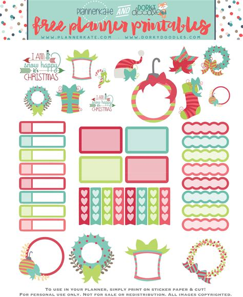 free printable christmas planner stickers free printable christmas planner stickers home office