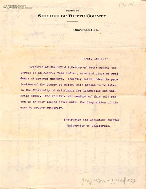 Transfer Letter Foundations Of Anthropology At The Of California
