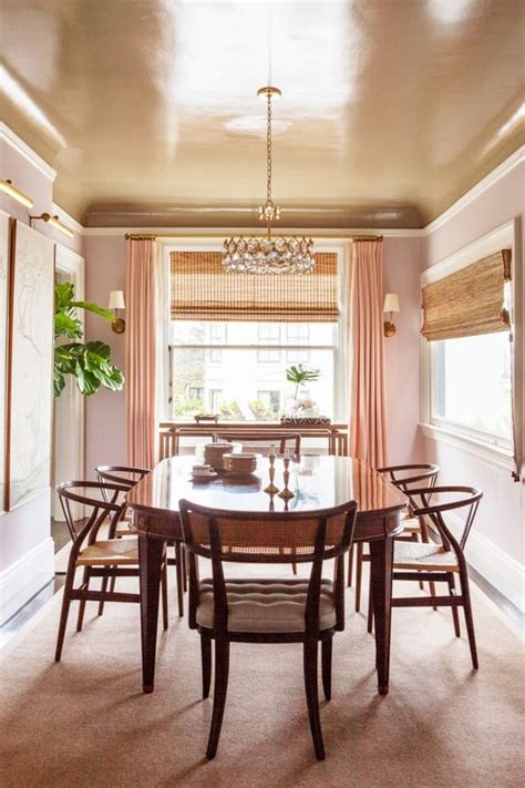 dining room lighting concept ideas over high gloss 24 trendy modern metal ceiling d 233 cor ideas shelterness