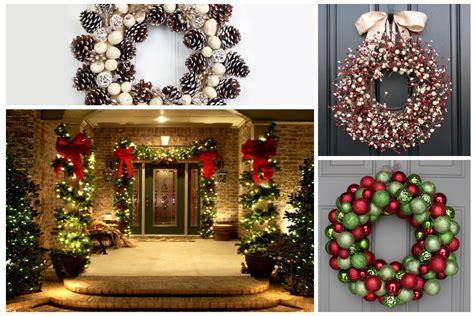consejos para decorar tu casa en navidad 16 ideas de decoraciones navide as para puertas casas