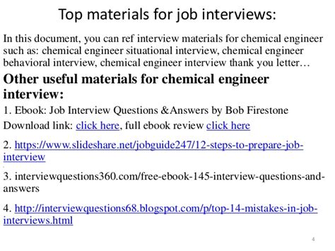 Chemical Engineering Mba Questions by Top 52 Chemical Engineer Questions And Answers Pdf