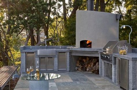 Outdoor Kitchen Designs With Pizza Oven Outdoor Kitchen Designs Featuring Pizza Ovens Fireplaces And Other Cool Accessories