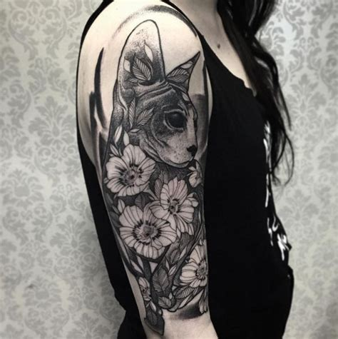 tattoo sleeve cat 117 best amazing cat tattoo design ideas images on