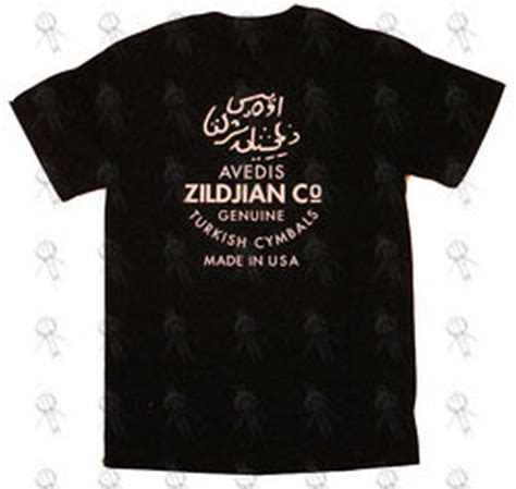 Tshirt Zildjian Black by Zildjian Black Zildjian Logo T Shirt Clothing Shirts