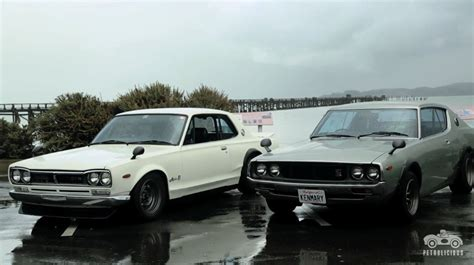vintage nissan skyline what s better than a vintage nissan skyline two of them