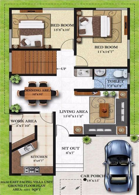 house design 30x50 site homely design 13 duplex house plans for 30x50 site east