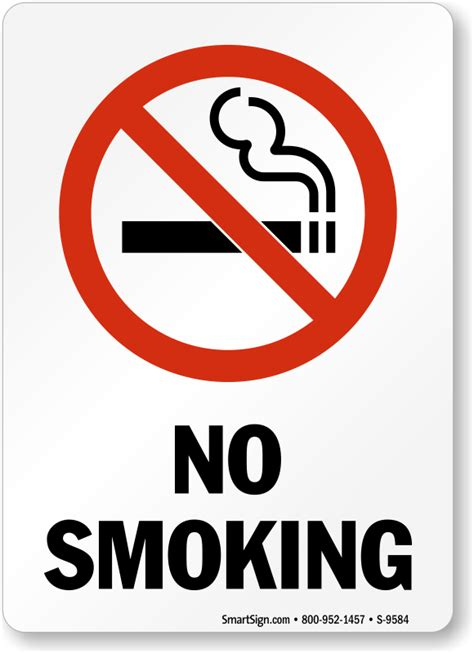 no smoking sign picture no smoking labels no smoking sku s 9584