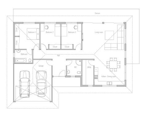 plans economical floor plans affordable home plans economical house plan ch225