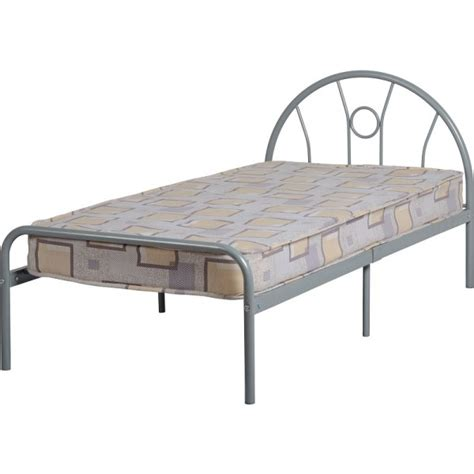 cheap metal bed frames cheap seconique silver metal bed frame for sale at