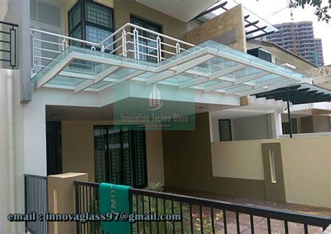 Lu Gantung Untuk Teras Rumah harga kanopi kaca murah untuk bangunan idaman kanopi kaca tempered