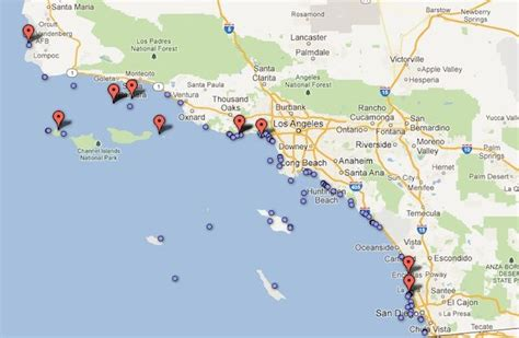 shark attack map california pin by laist on maps