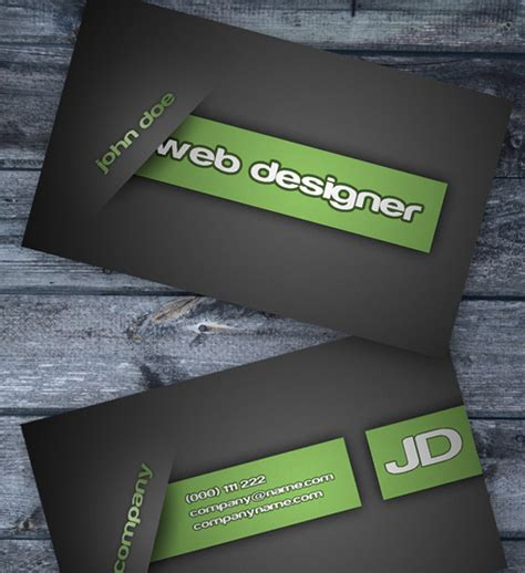 photoshop business card template free 32 free business card templates the design work