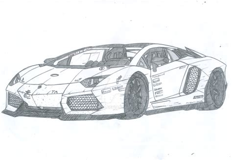 lamborghini sketch view lamborghini aventador lp950 4ta by jmig3 on deviantart