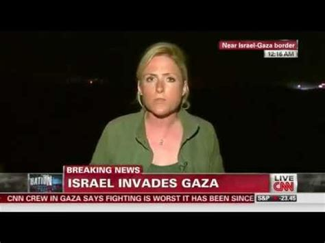cnn reporter calls israelis who gathered to watch gaza cnn reassigns reporter diana magnay who called israelis