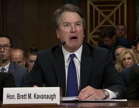 neil gorsuch and brett kavanaugh brett kavanaugh s tearful angry shouted opening