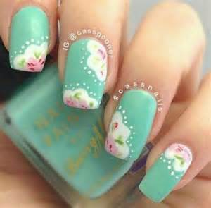 shabby chic nail design nails pinterest