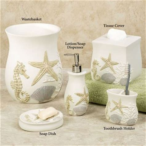 starfish bathroom accessories bathroom accessory sets touch of class