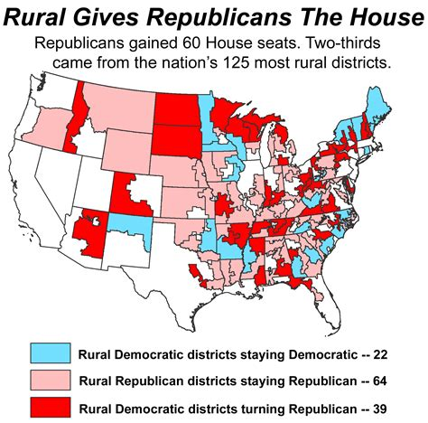 how many republicans are in the house daily yonder blog republicans win rural and the house rcap