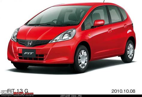 Headl Jazz Rs 2008 2011 honda fit jazz in india gets a fit ting facelift team bhp