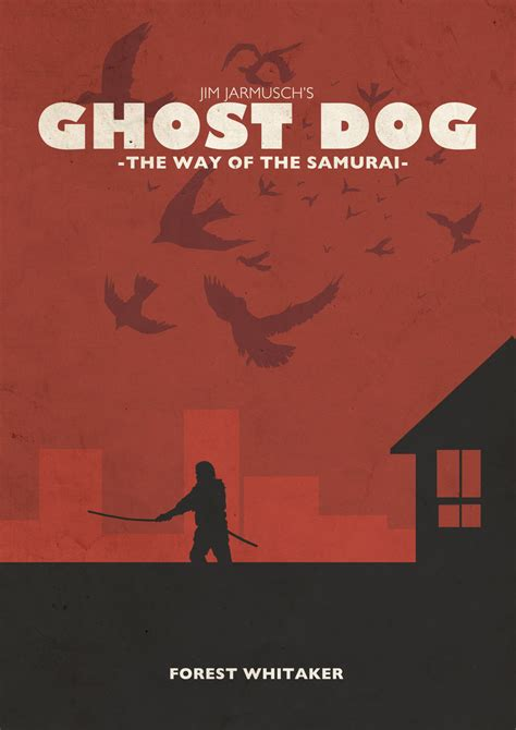 film ghost bo ghost dog poster by countevil on deviantart