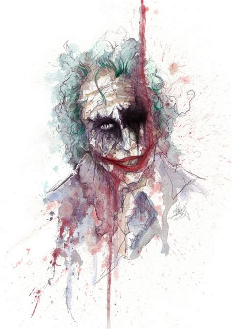 watercolor tattoo joker 245 best images about harley quinn on mad