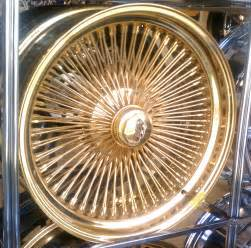 Gold Truck Rims For Sale A2i 20 Quot Dayton Gold Wire Wheels 24k 5x4 75 5x5