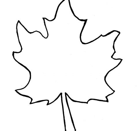 simple leaf coloring page simple leaf coloring coloring pages