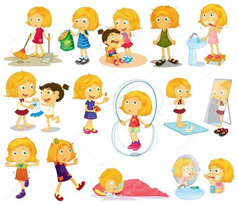 imagenes vectores infantiles image gallery actividades diarias