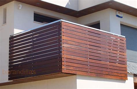 barandillas exteriores barandillas precios exterior madera barandillas