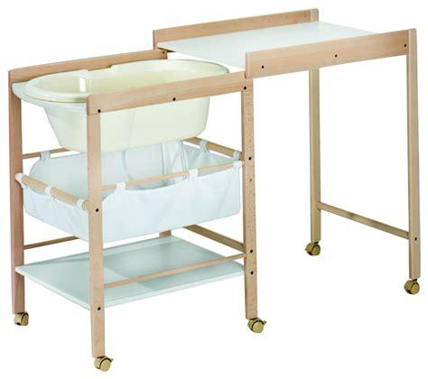 table langer baignoire