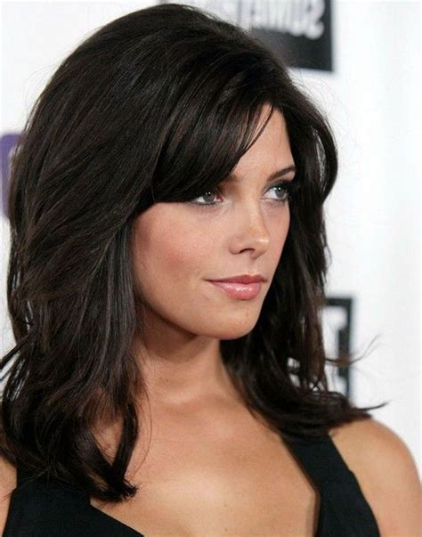 hairstyles dark hair medium length 22 cute black hairstyles for medium length hair 1