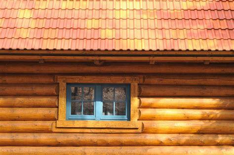 log cabin foundation  finishing details      quick garden
