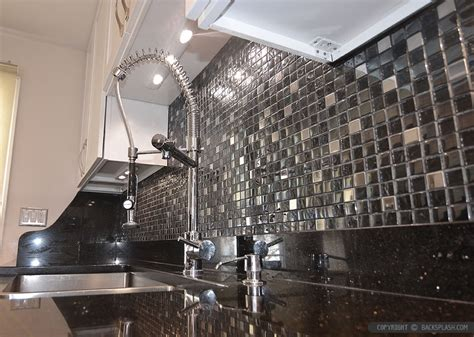 black galaxy backsplash ideas white cabinet backsplash