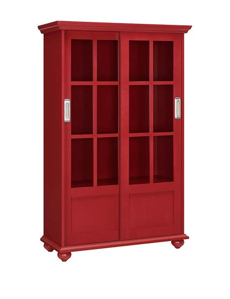 altra bookcase with sliding glass doors altra arron bookcase with sliding glass doors