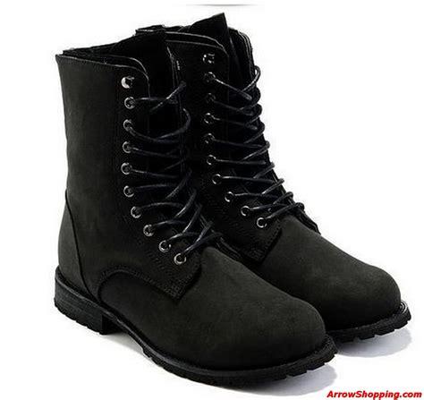 arrow retro combat boots winter style
